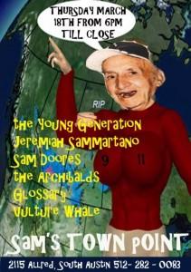 SX Sam's Town Point, Thursday 3/18/10