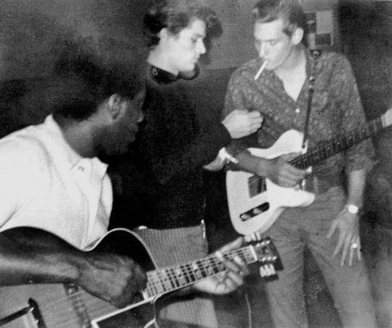 L-R: Otis Redding, Duck Dunn, Steve Cropper