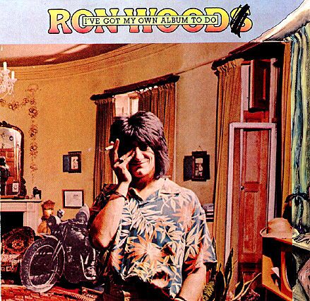 Ron Wood Ive Got My Own Album To Do