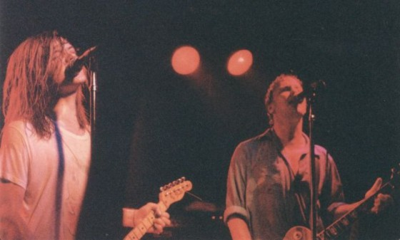 Dave Pirner (L) and Dan Murphy 9:30 Club, Washington, D.C. June 22, 1988 Photo: Mike Sweeney