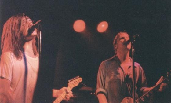 Dave Pirner (L) and Dan Murphy 9:30 Club, Washington, D.C. June 22, 1988 Photo: Mike Sweeney