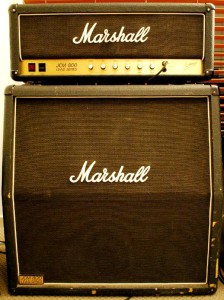 Amps Have Been Lowered to Half-Stack for Jim Marshall