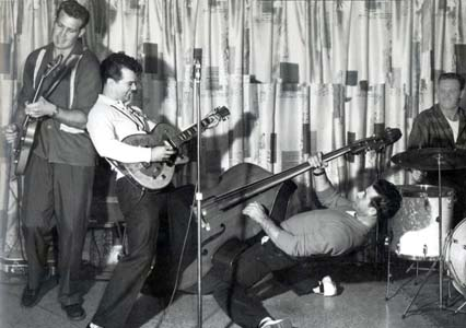 Harold Jenkins (later Conway Twitty) and his Rock Housers, 1958