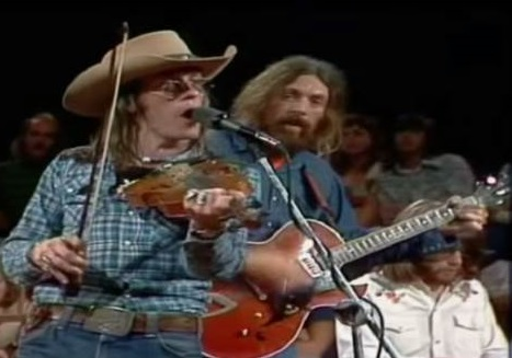 L-R: Doug Sahm, Augie Meyers, Harry Hess (slightly obscured)