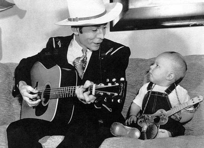 Hank Williams Sr. and Jr.