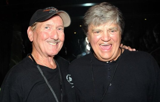 James Burton (L) & Phil Everly