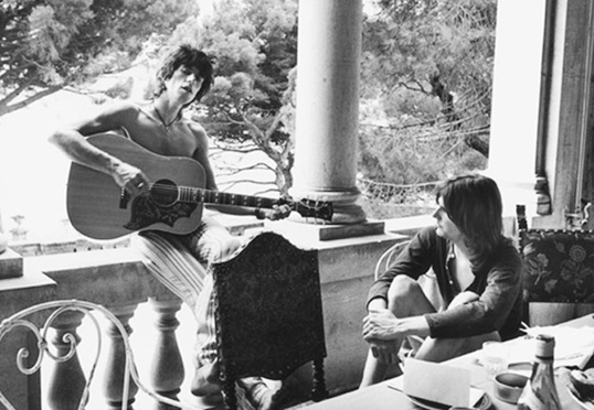 Keith Richards & Gram Parsons