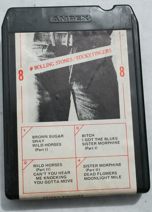 Rolling Stones, Sticky Fingers 8-Track