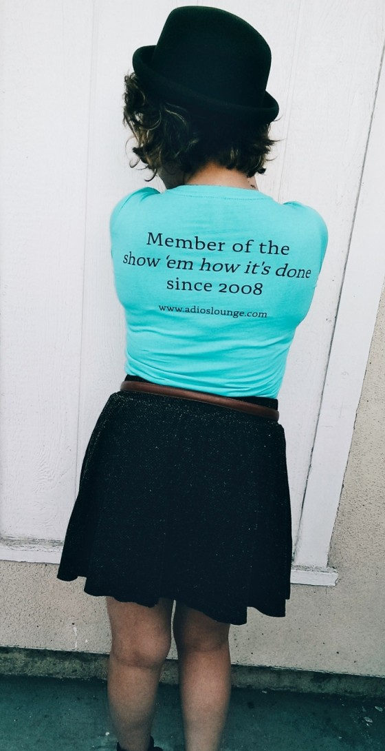 Teal Women's Adios Lounge T - Back