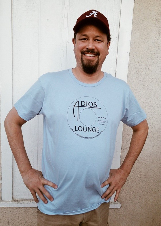 Blue Men's Adios Lounge T - Front