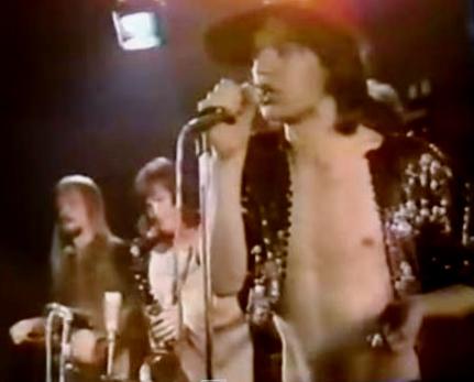 L-R: Jim Price, Bobby Keys & Mick Jagger