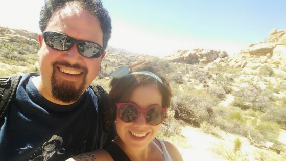 Honeymooners in Joshua Tree