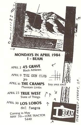 i beam, sf, april 1984