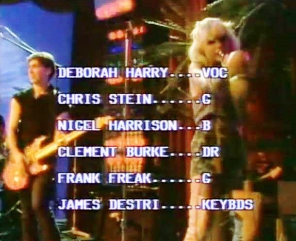 blondie lineup musikladen