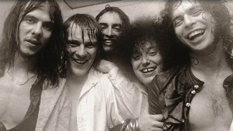 The MC5 in happier days L-R: Fred Smith, Dennis Thompson, Michael Davis, Rob Tyner & Wayne Kramer