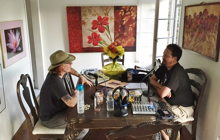 Me & Bob conversatin'